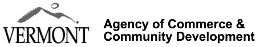 Vermont Agency of Commerce and Community Development